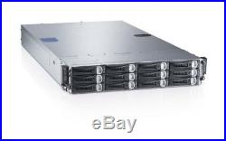 Dell PowerEdge C6220 4 Node server 8 x XEON 8-CORE E5-2680 768GB RAM Rack Mount