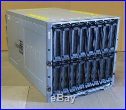 Dell PowerEdge M1000E 16-Slot Blade Server Chassis Enclosure V1.1 6x 2700W PSU's