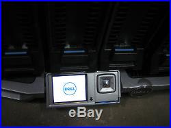 Dell PowerEdge M1000e Blade Server Chassis with2x DF10MXL + 4x 10G-PTM + FANs PSU+