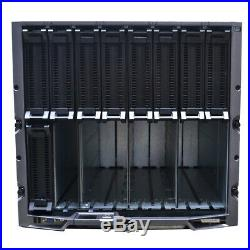 Dell PowerEdge M1000e Server Chassis 4x Cisco WS-CBS3130G-S No Server Blades