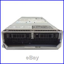 Dell PowerEdge M620 SAS Blade 12-Core 2.00GHz E5-2620 8GB RAM No HD 10GbE
