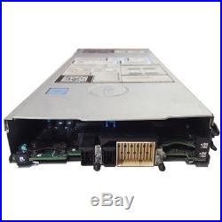 Dell PowerEdge M620 SAS Blade Server BARE LGA2011 2x HP 130W Heatsinks 10GbE