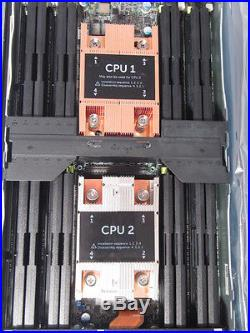 Dell PowerEdge M630 Blade Barebone NO CPU NO RAM NO HDD with i350 and Perc H330