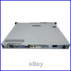 Dell PowerEdge R210 4-Core 2.40GHz Xeon X3430 4GB No HDD iDRAC6 S100 with Bezel