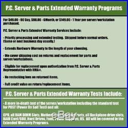Dell PowerEdge R210 II 4-Core 3.40GHz E3-1245 v2 8GB RAM 500GB HDD S100