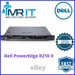 Dell PowerEdge R210 II Server Xeon E3-1270@3.40GHz 16GB RAM 1 TB SATA/DVD