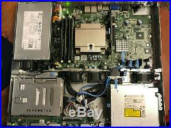 Dell PowerEdge R220 E3-1241v3 3.5GHz 32GB RAM 500GB HDD DVD RW 1U Rack Server