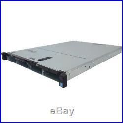 Dell PowerEdge R320 Server E5-2407 2.20GHz Quad Core 24GB H310 PERC 4x Trays