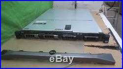 Dell PowerEdge R320 Xeon QC E5-2403 @ 1.80GHz 8GB PC3 (2x500GB)H310 Mini 1x PS