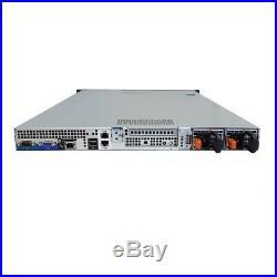 Dell PowerEdge R410 8-Core 2.26GHz L5520 4GB RAM PERC 6/i iDRAC6 DRPS No HDD