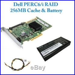 Dell PowerEdge R410 Xeon E5649 2.53GHZ Hex Core 8GB DDR3 300GB 15K SAS PERC 6/i