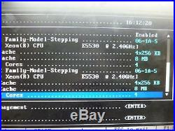 Dell PowerEdge R410 with Xeon E5530 2.4GHz 8GB Ram&