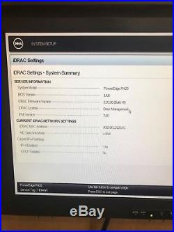 Dell PowerEdge R420 2x E5-2407 4C 2.20GHz No Ram No HDD H710 mini 550W DVD ROM
