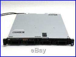 Dell PowerEdge R430 1U Server 2Xeon E5-2623 v3 3GHz QC PERC H330 Mini Barebones