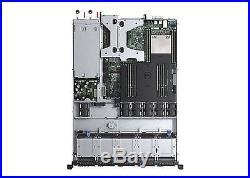 Dell PowerEdge R430 Rack 1U Server Xeon E5-2620V4 2.1 GHz 8 GB 300 GB