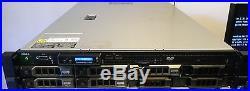 Dell PowerEdge R510 2U Server 2xE5620 2.4GHz 32GB 4x600GB 2x300GB H700 2xPS 8Bay