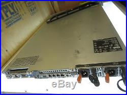 Dell PowerEdge R610 1U Server 2x Intel Xeon 6-Core 2.4GHz No Ram No HDD 2.5^