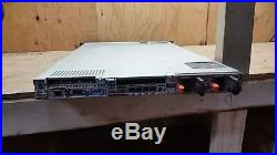 Dell PowerEdge R610 1u Server 2x Intel E5630 2.53GHz 8GB DDR3 6x2.5 2x PSU