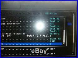 Dell PowerEdge R610 1x Xeon E5520 2.27GHz 6GB Ram&