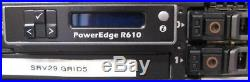 Dell PowerEdge R610 6 Bay Server 2x 6 Core X5670 CPU @ 2.93GHz 16GB RAM, No HDDs