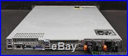 Dell PowerEdge R610 Server 1U 2x 2.27GHZ Quad Core 48GB Ram No HDD SAS