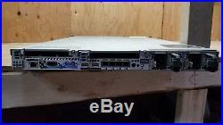 Dell PowerEdge R610 Server 1u 2x Intel X5670 2.93GHz 4GB 6x2.5 2x PSU
