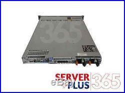 Dell PowerEdge R610 Server 2.7TB 2x E5620 2.4GHz Quad Core 72GB 6x 450GB 2x RPS