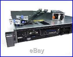 Dell PowerEdge R610 Server Dual E5630 32GB iDRAC IPMI 717w PSU 4-Post Rail Kit