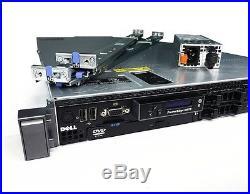 Dell PowerEdge R610 Server Dual X5660 32GB iDRAC IPMI 717w PSU 4-Post Rail Kit