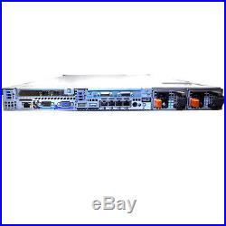 Dell PowerEdge R610 Server with(2) Xeon X5660 2.80GHz Six Core 96GB RAM With Rails