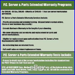 Dell PowerEdge R610 Virtualization Server E5640 2.66GHz 8-Core 32GB 2x146G PERC6