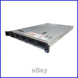 Dell PowerEdge R620 10B 6-Core 2.00GHz E5-2620 8GB RAM H310 750W 2x Trays