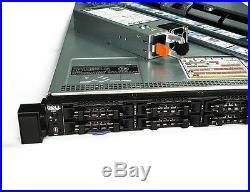 Dell PowerEdge R620 10-Bay Dual E5-2640, 64GB iDRAC H710 1xPSU Rails Bezel Incl