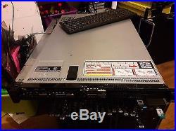 Dell PowerEdge R620 2x EIGHT XEON E5-2650 32GB Ram 1U Rack Mount server H710