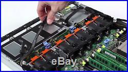 Dell PowerEdge R620 2x Xeon E5-2609v2 8-CORE 2.50 GHz 96GB DDR3 H310 4x300Gb 10K