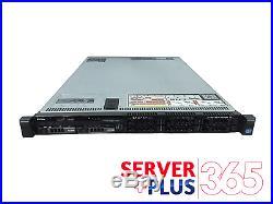 Dell PowerEdge R620 8 Bay Server 2x 2.7 GHz 8 Core 256GB RAM 4x Trays, PERC H710