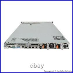 Dell PowerEdge R620 Server 2x E5-2670 2.6GHz = 16 Cores 128GB RAM 2x Trays
