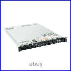 Dell PowerEdge R620 Server 2x E5-2690 2.90GHz = 16C 64GB RAM 2x 600GB