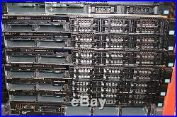 Dell PowerEdge R620 Server with 2x E5-2690v2 3GHZ 10-Core 64GB Ram H710P 10GB Card