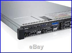 Dell PowerEdge R620 Windows Server 2016 COA & SQL 2014 16 Core 128Gb H710