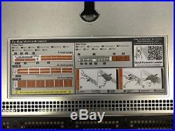 Dell PowerEdge R630 BareBone 10BAY 1U Rack Server Motherboard FAN chassis 750W