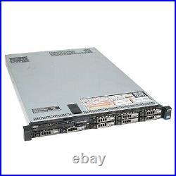Dell PowerEdge R630 Server 2x E5-2680v4 28 Cores 128GB H730 5x 900GB SAS