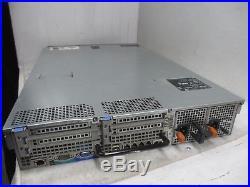Dell PowerEdge R710 2U 2x Xeon E5504 4-Core @ 2.00Ghz 12GB DDR3 PERC 6/i 3.5+