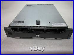 Dell PowerEdge R710 2U Server Xeon E5620 2.40GHz 16GB 0HD Boots with Bezel