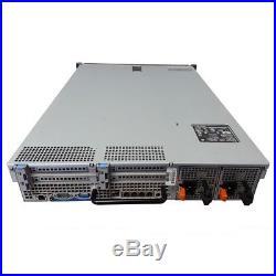Dell PowerEdge R710 2.5 Server 2x 2.4 GHz Quad Core 32GB DVD iDRAC6 & 4 Trays