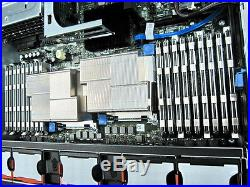 Dell PowerEdge R710 2 x Hex CORE X5650 2.66Ghz 64GB DDR3 Perc 6/i RAID 870W PSU