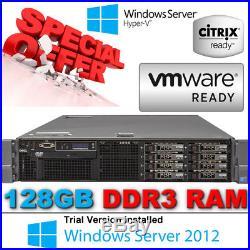 Dell PowerEdge R710 2xHexCore XEON X5675 3.06GHz 128GB 300GB 2.5 10K Enterprise