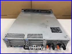 Dell PowerEdge R710 2x Intel Xeon X5675 @3.06Ghz 64GB 6x 300GB PERC H700 Rails