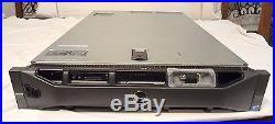 Dell PowerEdge R710 2x QC 5520 36GB RAM 6 Caddies Two PS