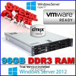 Dell PowerEdge R710 2x Six CORE X5650 2.66Ghz 96GB DDR3 Perc 6/i RAID 900GB SAS